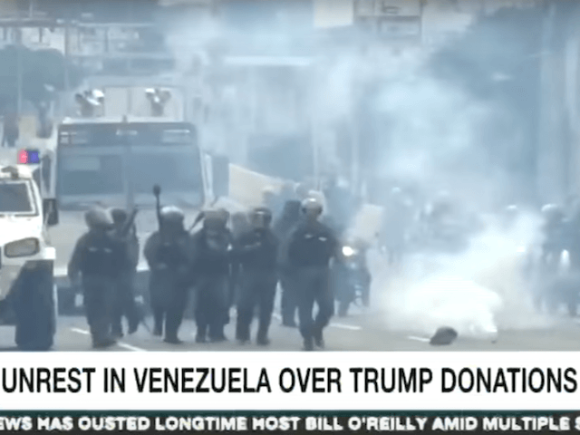 「トランプ献金に関するベネズエラでの混乱」という「間違った」字幕