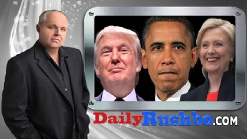 オバマはトランプが非難されていることを行っていた:ラッシュ・リンボー